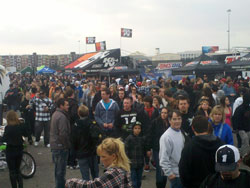 AMA Supercross Events pack in the spectators to a nearly sell-out crowd at every round of 17 Events across the country!
