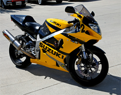 Suzuki GSX-R750 designed to reach the highest level of development and performance for riders