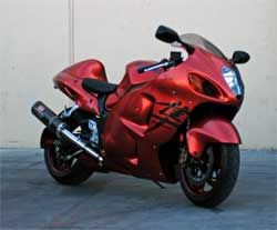 2008 Suzuki Hayabusa GSX 1340 Sports Bike