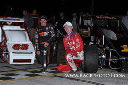 Cody and Tanner Swanson recently set a new record in the world of racing, being the first two brothers to sweep a USAC Silver Crown with first and second places.