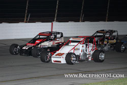 Although racing on opposing teams, Kody and Tanner Swanson are very close and actually enjoy the competition.