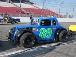 No. 89 Legend Car at Irwindale Speedway