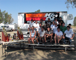 California Dirt Ford Focus Week Drivers raced at Perris Auto Speedway, Ventura Speedway and Hanford Kings Speedway