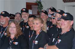Some of the Sweepstakes Finalists Gather in K&N's Private Suite at NHRA Summit Racing Equipment Nationals.