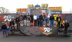 K&N Horsepower Challange Sweepstakes Finalists Meet K&N Horsepower Challenge Pro Stock Drivers in Norwalk, Ohio