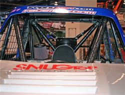ProComp Motorsports Trophy Kart with K&N air filter on display at SEMA (Specialty Equipment Market Association) in Las Vegas, Nevada