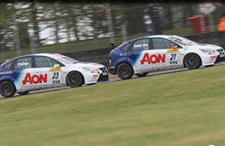Onslow-Cole currently sits in fourth place overall in the BTCC point standings, with Chilton right behind him in fifth.
