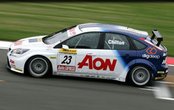 Tom Chilton stayed consistent all season tallying valuable points at every race.