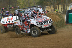 Team Faith's Chuck Lemaster and co-pilot Brian O'Rourke locked up their second GNCC UTV Lites Championship in round five of six at St. Clairesville, Ohio race.