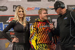 Team Faith finished the season with mere points separating them from the Amsoil Arenacross championship.