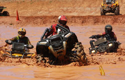 JW Otwell earned a third place finish in the Pro A Class on a Polaris Sportsman 850.
