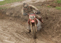 Florian 'Superflo' Wedenig put on a show of his off-road talents by battling from the back of the pack, pulling out a seventh and fifth place finish.