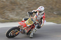 Andi Rothbauer began to come on strong towards the end of the season after his injury at the end of 2010.