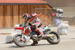 Florian Wedenig calls his first ever Supermoto podium finish the highlight of 2011.