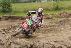 Wedenig came to THA with familiarity in motocross, cross country, as well as Supermoto Junior Cup experience.