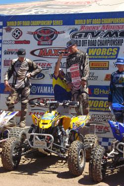 Team Motoworks' Josh Frederick wins at Cahuilla Creek in round 6 of the 2010 WORCS series.