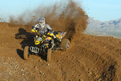 Josh Frederick at Cahuilla Creek in round 6 of the 2010 WORCS series.