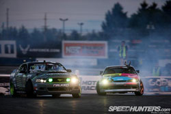 Two K&N sponsored drivers, Ryan Tuerck and points leader Vaughn Gitten Jr. went toe-to-toe in the final dual at Evergreen Speedway.