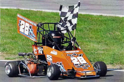 Teddy Hodgdon at the Ceric Fabrication Racing Series/Wildthing Karts event