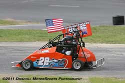 Ten-Year-old, Teddy Hodgdon earned two Cahmpionships during the 2011 season.