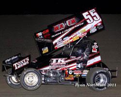#55 Sprint Car Driver Terry McCarl