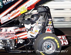 Terry McCarl is gearing up for the final race of the 2011 season at the Charlotte Motor Speedway.