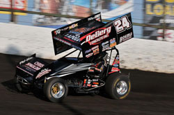 Teri McCArl recently earned his fifty-second win at Knoxvlle Raceway