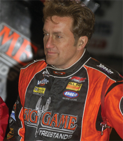 Sprint Car driver Terry McCarl of Big Game Motorsports is ready for the All Star Circuit of Champions