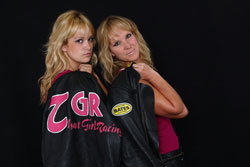 World record-breaking drag-sled racers Tiina and Kiersten Duncanson