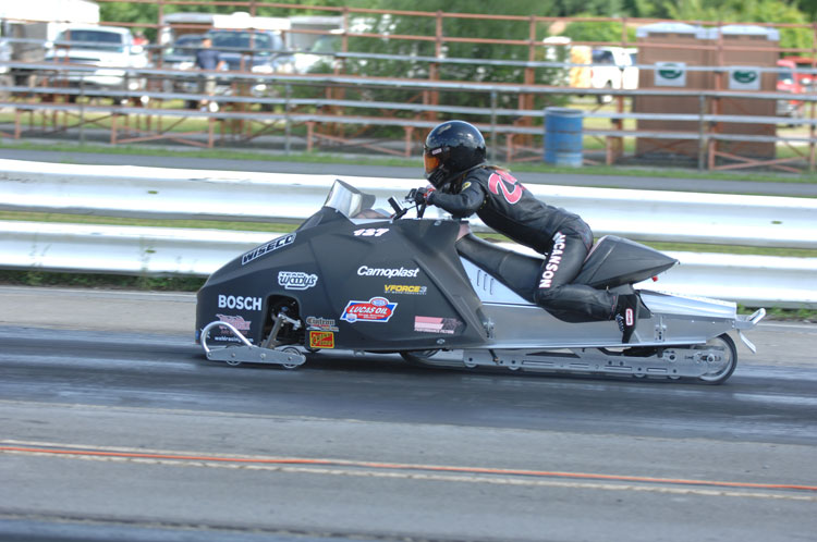 That Girl Racing Moves Their NHRA Pro-Stock Snowmobile and