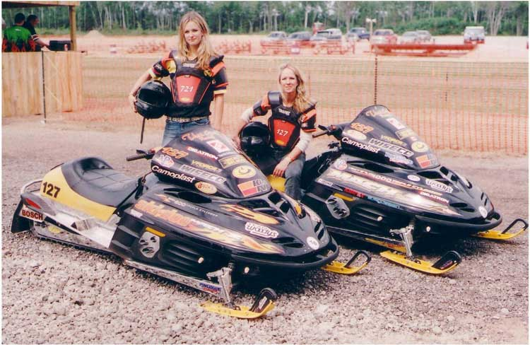 Mother-Daughter Racers Breaking Snowmobile World Records for