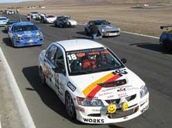 K&N Engineering GoodSport Evo at Thunderhill