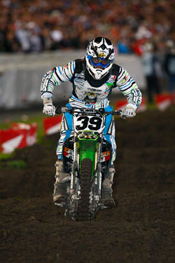 Daytona's challenging track doesn't slow down Goerke through the whoops.
