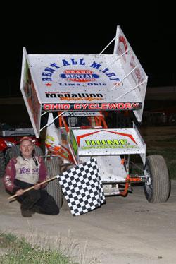 Tim Allison has 14 wins in the 360 Sprint car division at Eldora Speedway