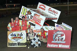 The Tim Allison Racing worked hard all year, coming up just shy of two more championships and their 100th feature victory.