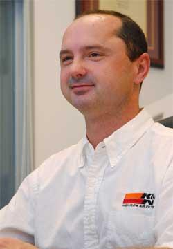 Tim Martin, K&N Vice President of Communications