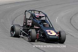 Tanner drove the RFMS Racing Midget No.3 in 2011 and Kody will take the seat in 2014.