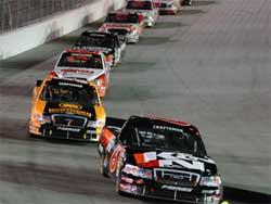 Kvapil is third in NASCAR Craftsman Truck Series PointsC