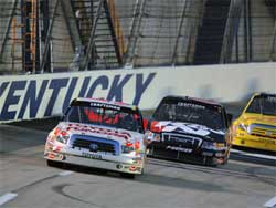 Kvapil is third overall in NASCAR Craftsman Truck Series