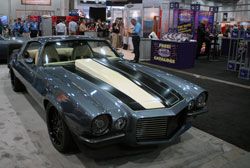 TMI's custom 1970 Camaro was at SEMA with a K&N Extreme Airflow filter