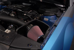 SEMA featured 2005 Ford Mustang has a K&N Air Intake system