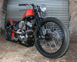 1999 Harley-Davidson XL1200C Sportster converted to Bobber