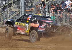 Championship Off-Road Racing Course at Pomona, California