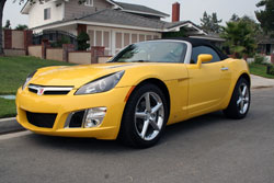 Madonna Parker's 2008 Saturn Sky Turbo