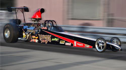 Tom Martino and his son Ryan say their K&N second-generation composite dragster scoop with K&N air filter added an additional three mph to their dragster in the 1/4 mile in 2011.
