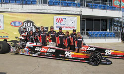 Tommy Phillips and his CBS ArcSafe/K&N team got the double win at the Texas Motorplex and they were awarded the Best Appearing Car honors for the weekend
