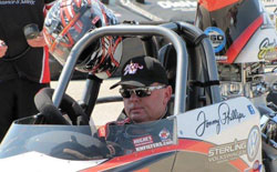 In the Super Gas final Phillips bested fellow Texan Jimmy Lewis for the coveted double victory