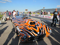 Phillips said this 1958 Corvette Roadster did exactly what it was supposed to do in every run at the Motorplex.