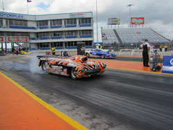 The K&N sponsored driver used his superior starting-line skill to bring it home at the Texas Motorplex.