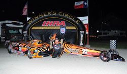 Tommy Phillips doubles up at his first IHRA Nitro Jam in his K&N Quick Rod and Super Rod entries. Photos by: IHRA Communications.